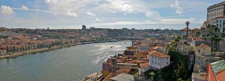 Panorama de Oporto foto de archivo libre de regalías