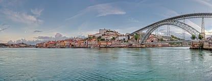 Panorama de Oporto Fotografía de archivo
