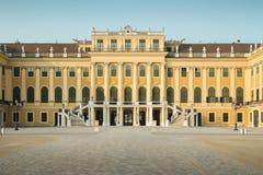 Panorama de palais de Schonbrunn à Vienne, Autriche image libre de droits
