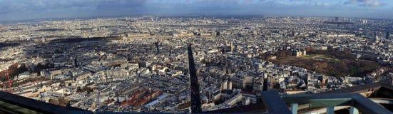 Panorama de París Foto de archivo