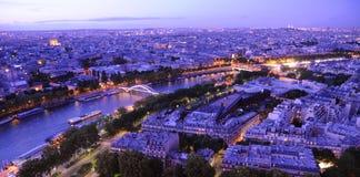 Panorama de París Fotos de archivo