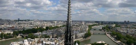 Panorama de París imagen de archivo