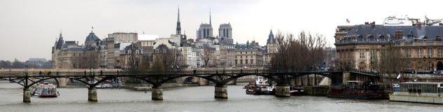 Panorama de París Imágenes de archivo libres de regalías