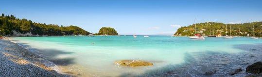Panorama de paradis de plage photos stock
