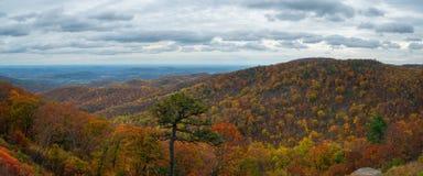 Panorama de parc national de Shenandoah Photos stock