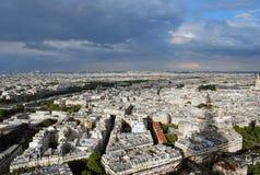 Panorama de Paris Images libres de droits