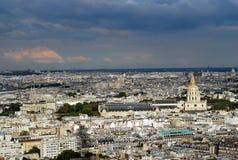 Panorama de Paris Photographie stock