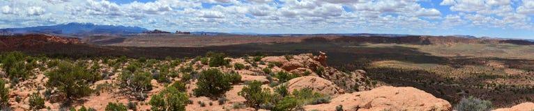 Panorama de paysage Image libre de droits
