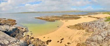 Panorama de paysage de l'Irlande Images stock