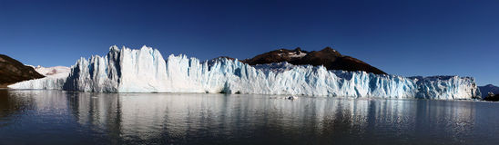 Panorama de Perito Moreno Fotografia de Stock Royalty Free