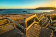 Panorama de Phillip Island photographie stock libre de droits