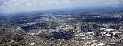 Panorama de Phoenix du centre, Arizona Image libre de droits