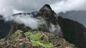 Panorama de picchu de Machu banque de vidéos