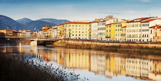 Panorama de Pisa fotografia de stock royalty free