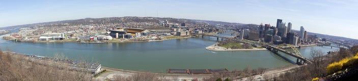 Panorama de Pittsburgh Photo libre de droits