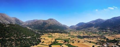 Panorama de plateau d'Askifou photos libres de droits
