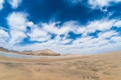Panorama de Playa Risco El Paso Imagem de Stock Royalty Free