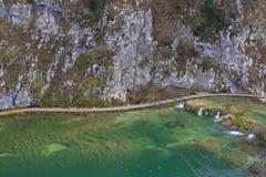 Panorama de Plitvice photo libre de droits