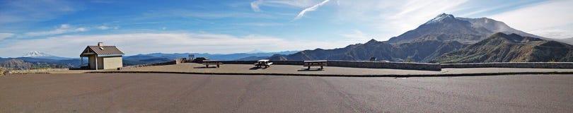Panorama de point de vue de Mt St Helens Photo libre de droits