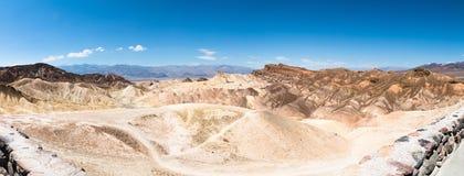 Panorama de point de Zabriskie Photo stock