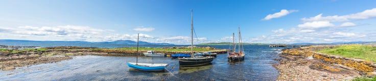 Panorama de Portencross Fotografía de archivo