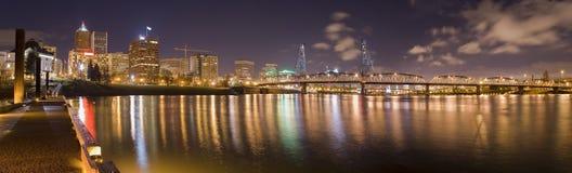 Panorama de Portland, Orégon image libre de droits