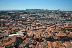 Panorama de Porto Photographie stock