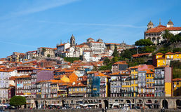 Panorama de Porto, Portugal Fotografia de Stock Royalty Free