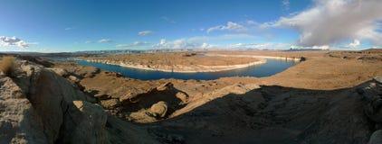 Panorama de Powell de lac Photos libres de droits