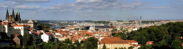 Panorama de Praga Fotografia de Stock