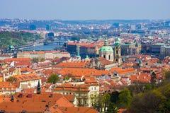 Panorama de Praga Imagens de Stock