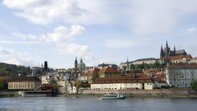 Panorama de Praga fotos de archivo libres de regalías