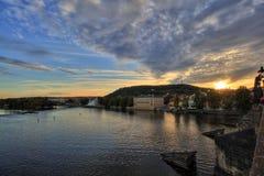 Panorama de Praga Imagem de Stock Royalty Free