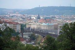 Panorama de Praga foto de archivo libre de regalías