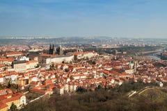 Panorama de Praga Fotos de archivo