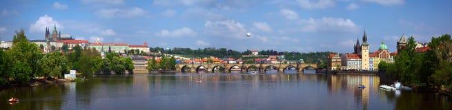 Panorama de Praga República checa Fotos de Stock