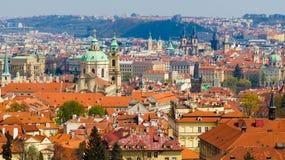 Panorama de Prague Photo stock