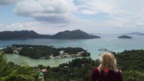 Panorama de Praslin Seychelles metrajes