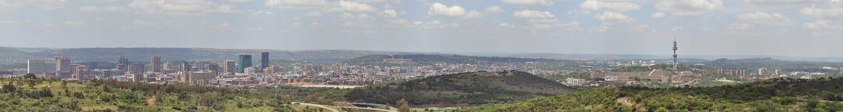 Panorama de Pretoria foto de archivo libre de regalías