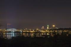 Panorama de Providence, los E.E.U.U. Foto de archivo