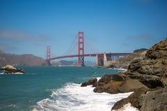 Panorama de puente Golden Gate, San Francisco 2012 Imagen de archivo libre de regalías