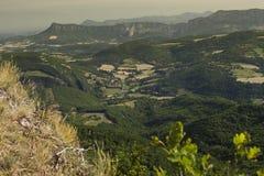 Panorama de ravin Photos libres de droits