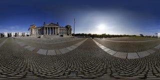 Panorama de Reichstag Imagen de archivo libre de regalías