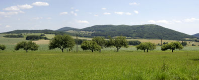 Panorama de República Checa Fotografia de Stock Royalty Free