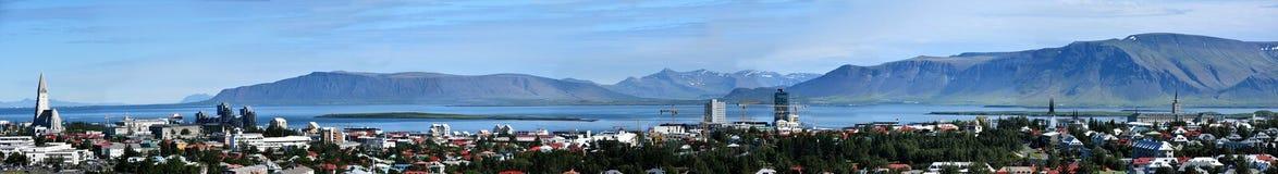 Panorama de Reykjavik photos stock