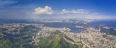Panorama de Rio de Janeiro Fotos de archivo