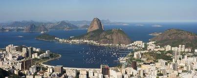Panorama de Rio de Janeiro Imagen de archivo libre de regalías