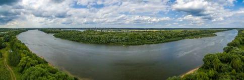 Panorama de rivière d'Oka photo libre de droits