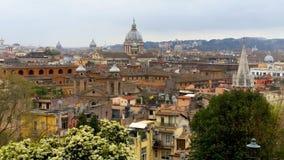 Panorama de Roma imagens de stock royalty free