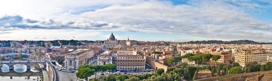 Panorama de Roma foto de stock royalty free